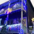 Cameron Street Christmas light display
