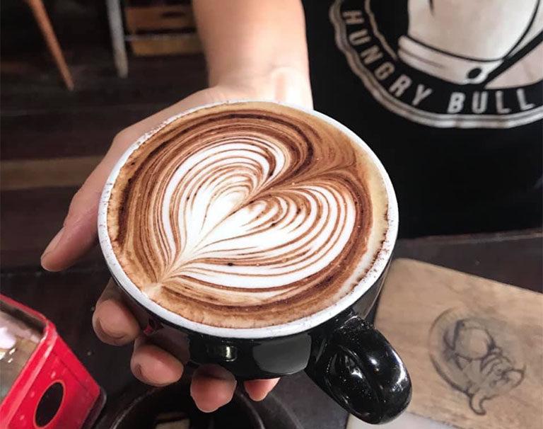 Coffee at Hungry Bull - Balmain