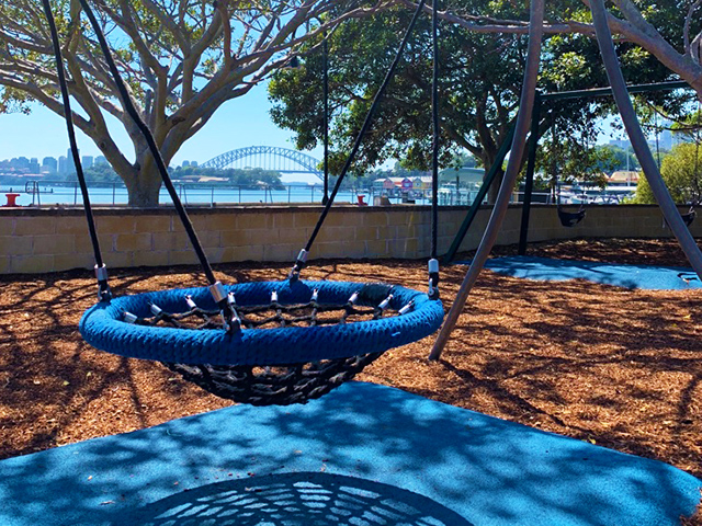 mort-bay-playground-swing-view2
