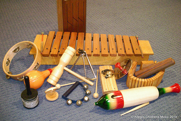 Allegro Music instruments