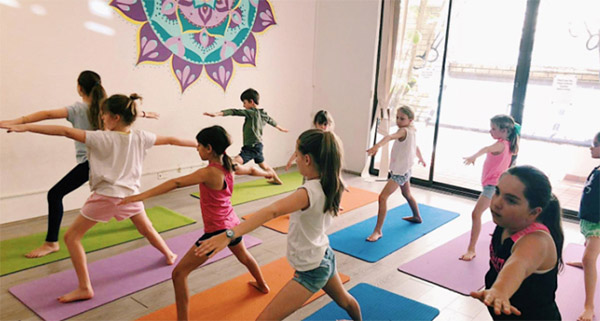 Flying Yogis - Inner West Mums' Activities Guide