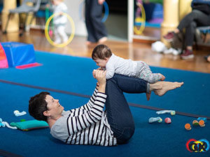 Mum and child - Gymkidz, Newtown
