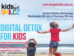 Kids Got Skillz - July School Holiday Guide