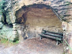 Bench at Balls Head