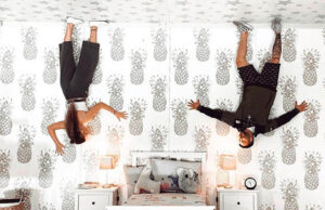Happy Place Upside Down Room