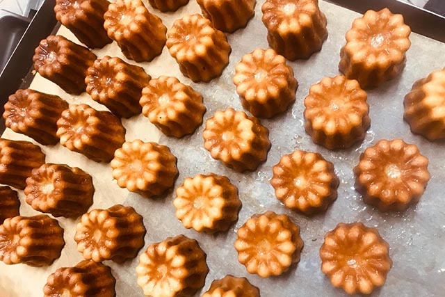 Canele - Baked by Keiran