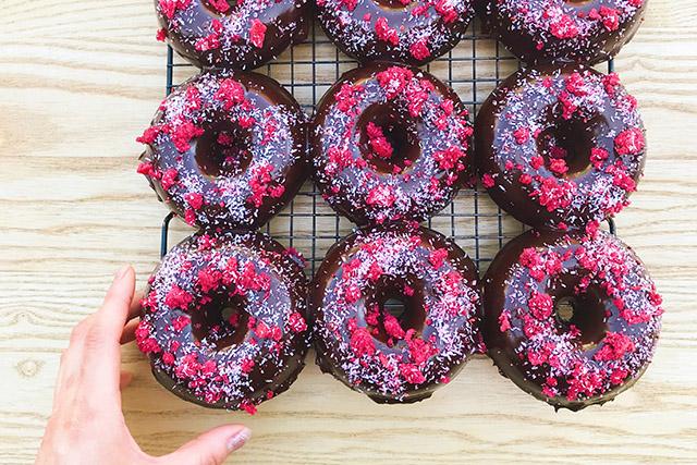 Nutie Donuts - chocolate donuts