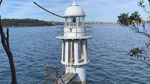 Lighthouse at Robertson's Point