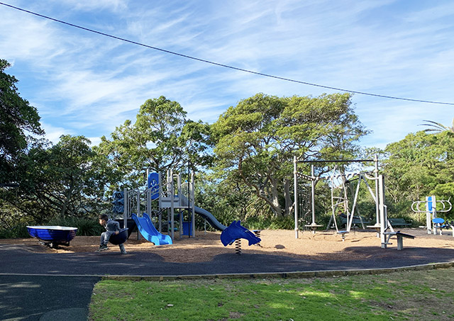 Playground at Cremorne Reserve