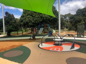 Five Dock Park roundabout