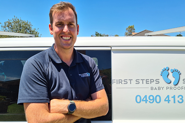 Mitchell Brown - First Steps Safe Steps