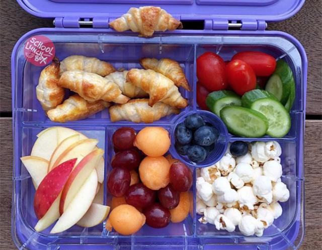 Mini Croissants - Schoollunchbox