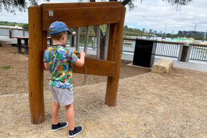 Wangal Reserve - musical instruments
