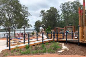 Wangal Reserve playground equipment