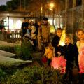 Pocket City Farms lantern walk